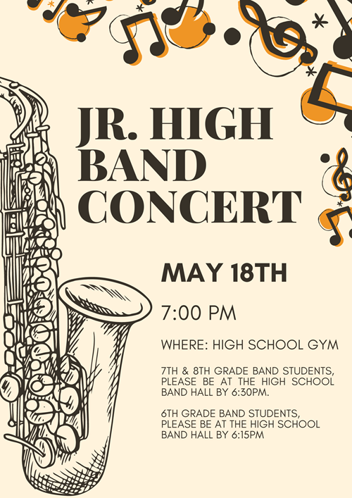 JH Band Concert