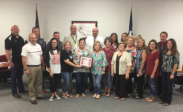 KCISD Board & KJH Faculty