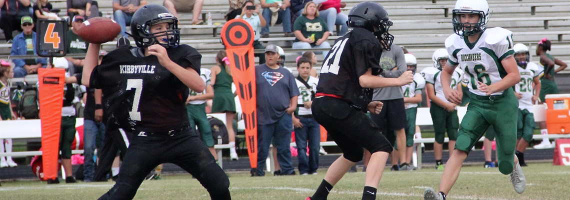 KJH Football vs. East Chambers