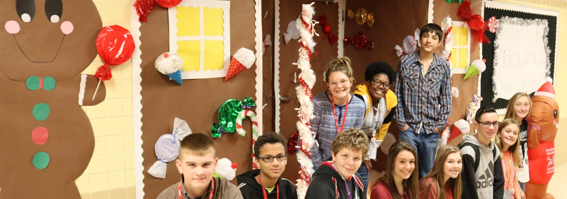 KJH Door Decorating Contest Winners